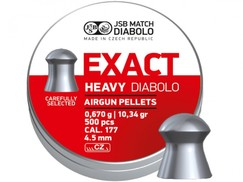 Diabolo JSB Exact Heavy 500ks kal.4,52mm