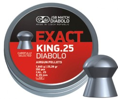 Diabolo JSB Exact King 350ks cal.6,35mm