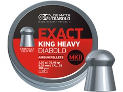 Diabolo JSB Exact King Heavy MKII 300ks cal.6,35mm