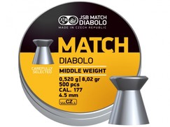 Diabolo JSB Match puška 500ks kal.4,49mm