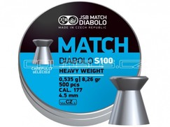 Diabolo JSB Match S100 500ks kal.4,48mm