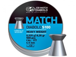 Diabolo JSB Match S100 500ks kal.4,49mm