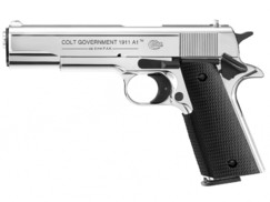Plynová pištol Colt Government 1911 A1 chrom kal.9mm