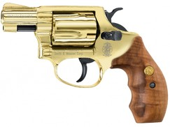 Plynový revolver Smith&Wesson Chiefs Special gold kal.9mm