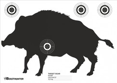 Terč silueta Beast Hunter Boar 10ks