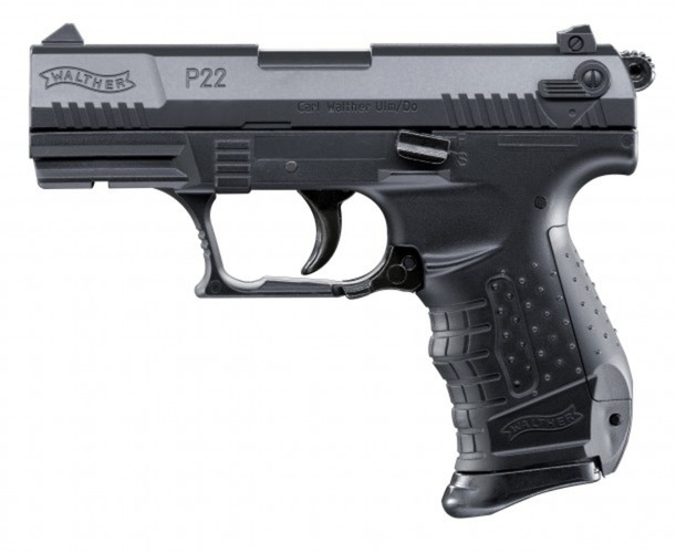 Airsoft Pistole Walther P22 čierna ASG