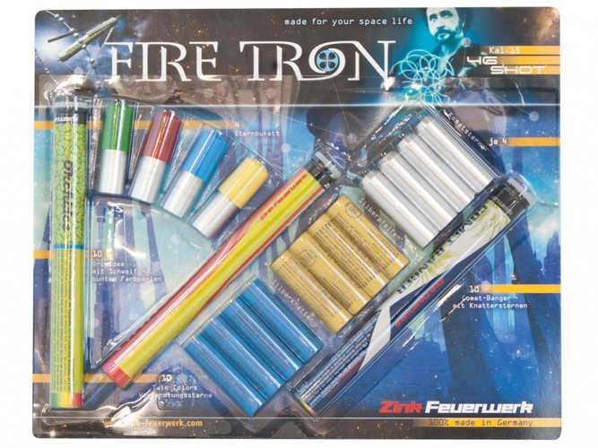 Pyro svetlice Fire Tron set 46ks